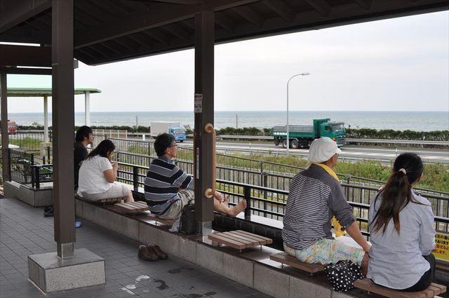 キャンプ 足湯 道の駅