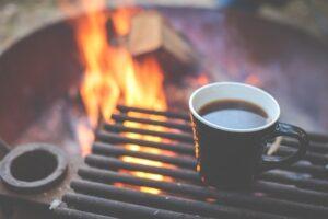 キャンピングカー コーヒー