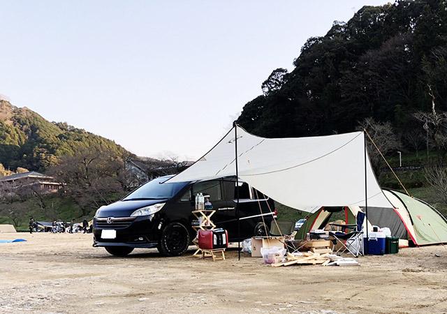 京都府 キャンプ場 笠置