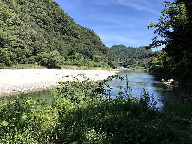 長野県和知野川キャンプ