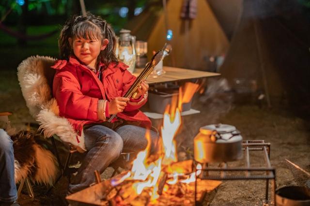 キャンプ 子供