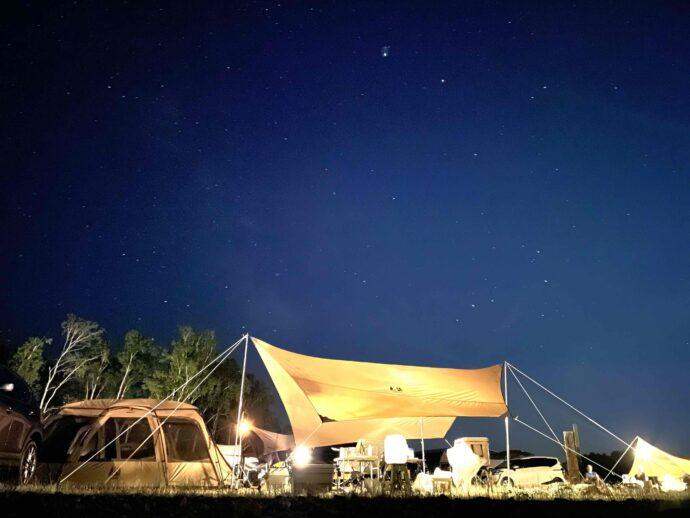北海道 士別市 キャンプ
