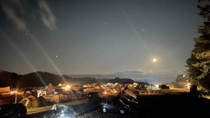 北海道士別市キャンプ