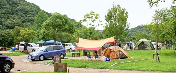 兵庫県 しあわせの村 オートキャンプ場