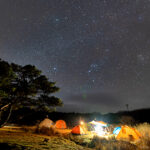 兵庫県 峰山高原リゾート キャンピングカー
